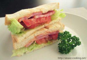 BLTサンドイッチ