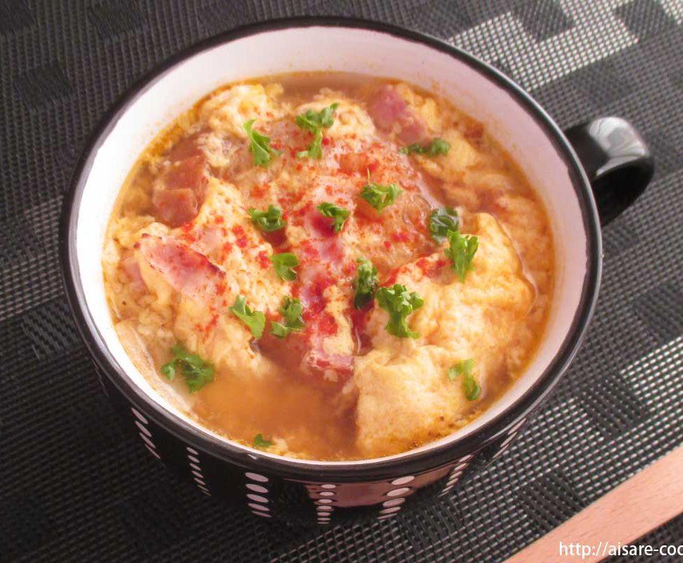 欧風かき玉スープ