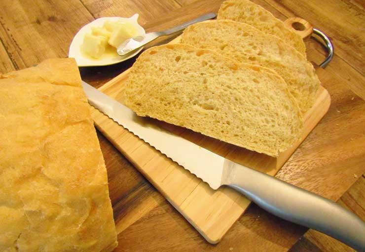 サンドイッチを綺麗に切る方法