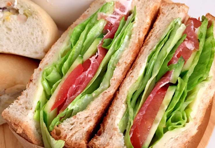 サンドイッチ 野菜の水切り