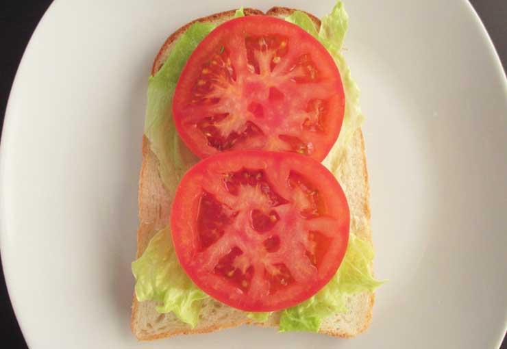 サンドイッチの挟む順番