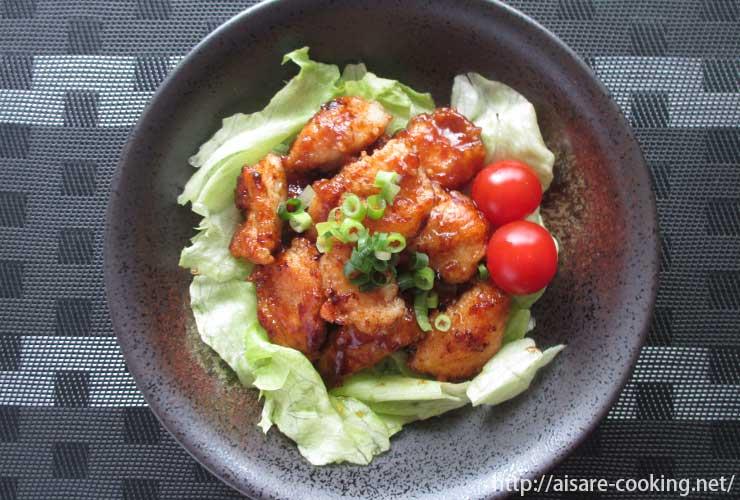 カレー鶏マヨ 全体