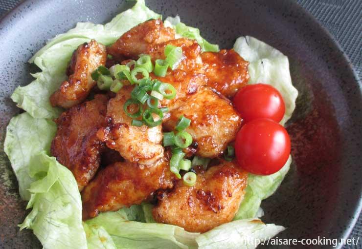 カレー鶏マヨ