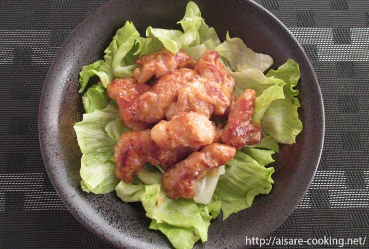 鶏肉の味噌マヨネーズ焼き 全体