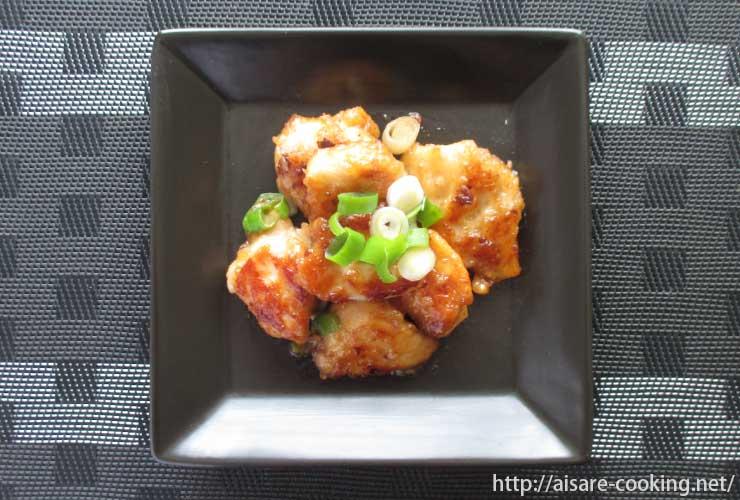 ネギポン酢鶏マヨ 全体