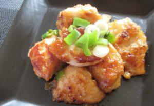 ネギポン酢鶏マヨ