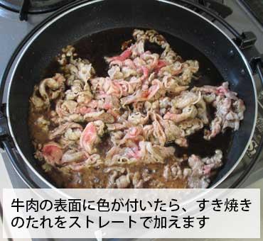 牛肉とすき焼きのたれ