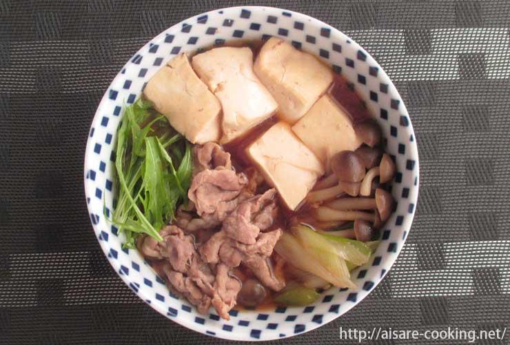 肉豆腐 全体