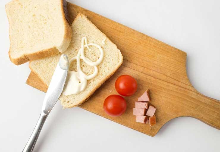 パンとマヨネーズ
