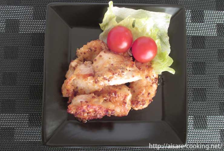 マスタード鶏マヨ 全体