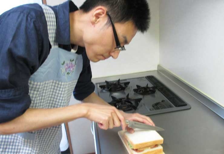サンドイッチ専用ナイフ