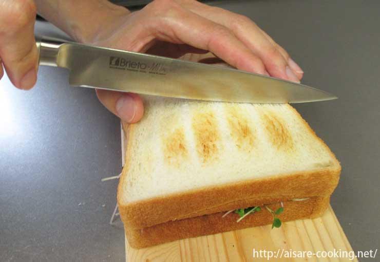 ツナとスプラウトのサンドイッチ