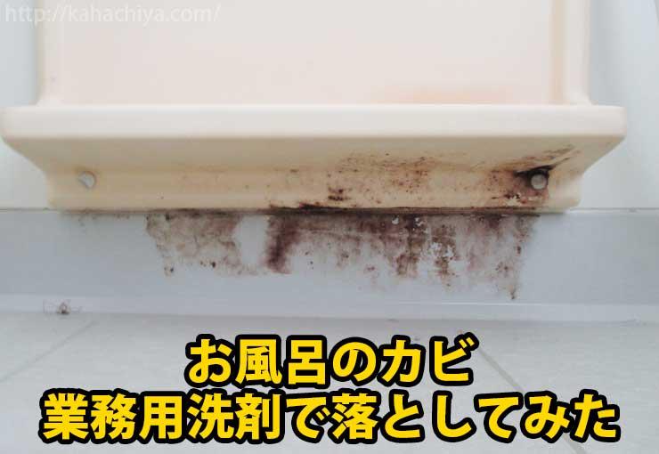 お風呂のカビ取り洗剤